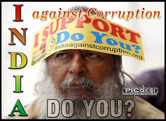 India Against Corruption India Picture