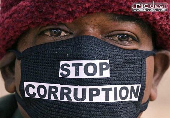 Stop Corruption India Picture