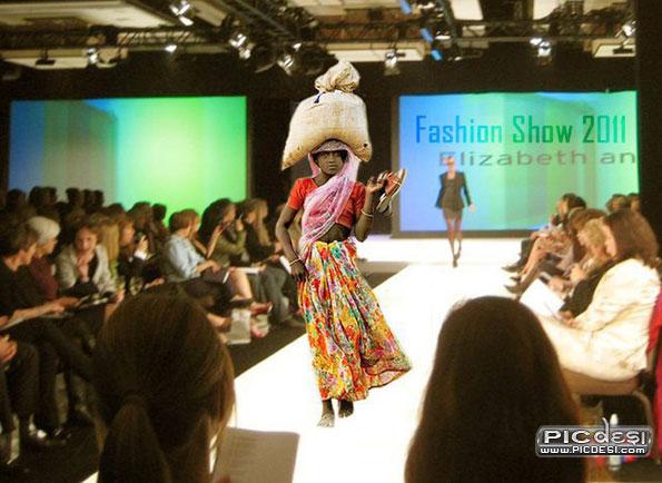 India Fashion Show Top Model India Funny