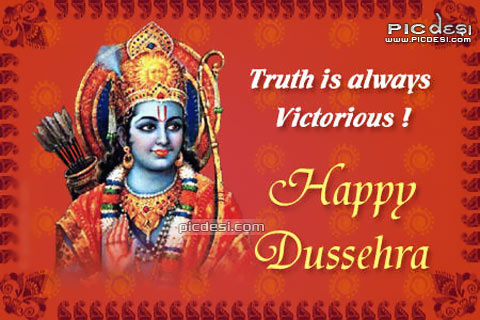 Dussehra   Truth is always Dussehra