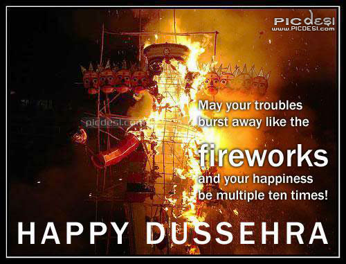 Dussehra May your troubles Dussehra Picture