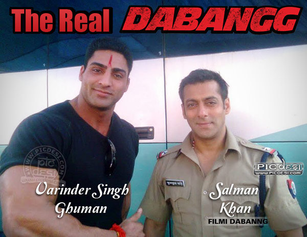 The Real Dabangg India Funny Picture