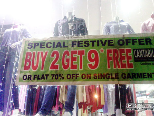 Special Offer Buy 2 Get 9 India Funny Picture