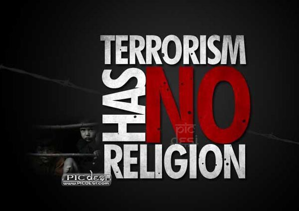 Terrorism has no Religion India Picture