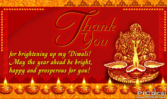 Thank you for brightening my Diwali Diwali Picture