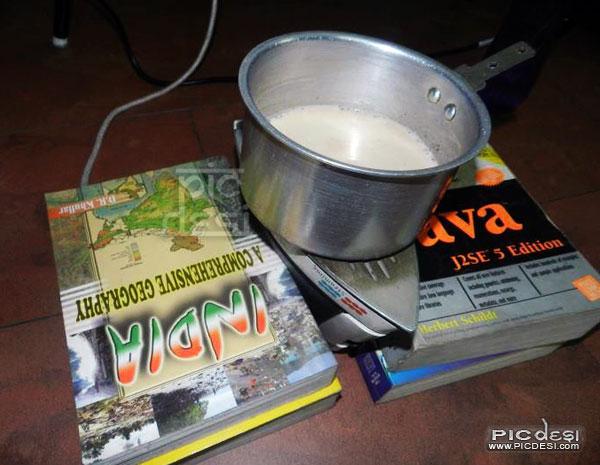 Intelligent Tea Making System India Funny