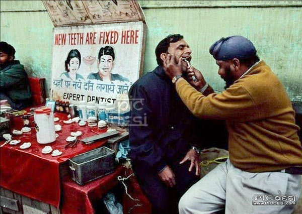 Indian Expert Dentist India Funny Picture
