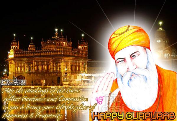 May the Teachings of Guru Gurpurab Picture