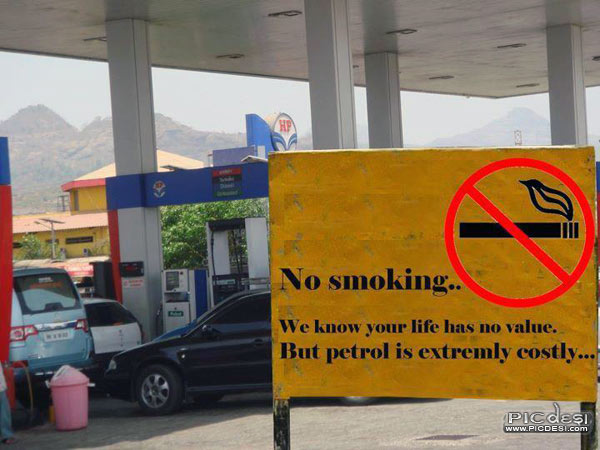 But Petrol is extremly costly India Funny Picture