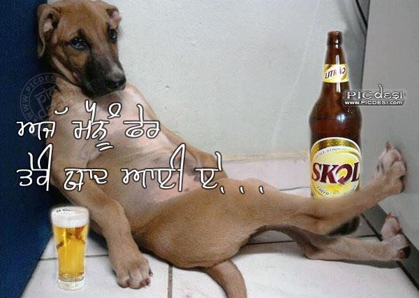 Fer Teri Yaad Aayi E Punjabi Funny Picture