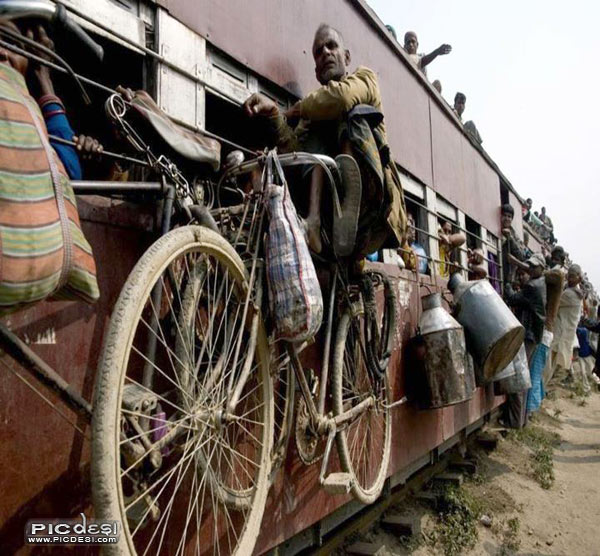 Train Travel in India India Funny