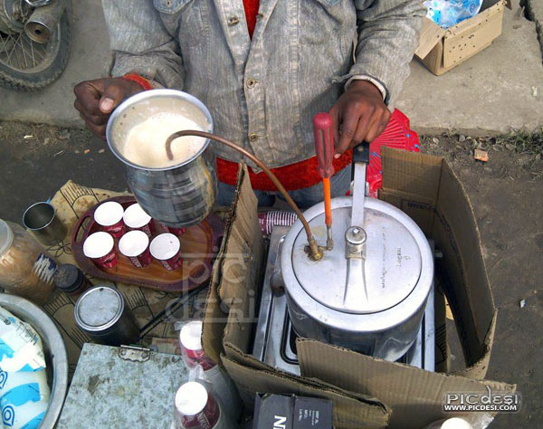 Coffee Maker Desi Jugaad India Funny Picture