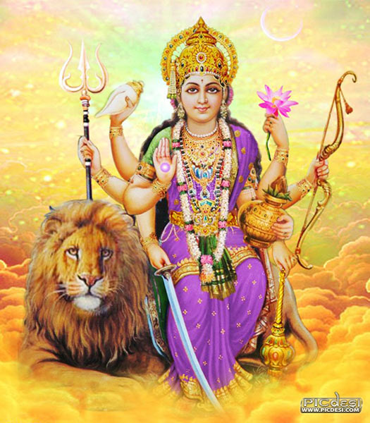 Goddess Durga Hinduism Picture