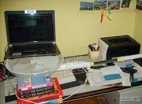 Funny Laptop Cooling Solution India Funny Picture
