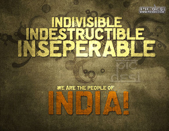 We are the People of India India