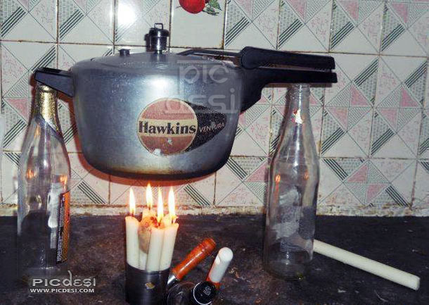Cooker Funny Jugaad India Funny Picture