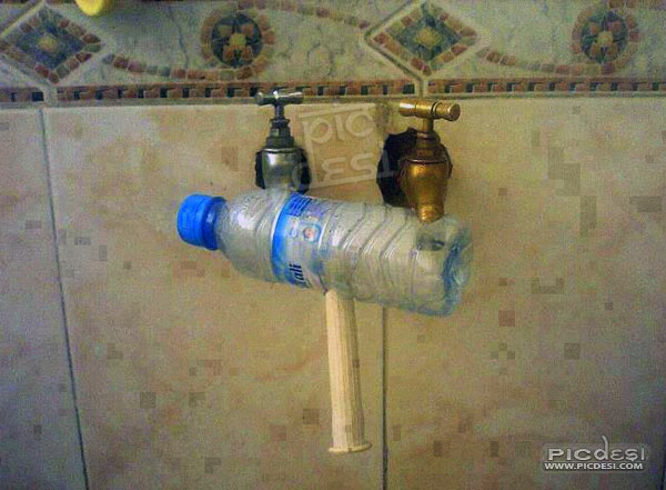 Hot & Cold Water Mix Jugaad India Funny