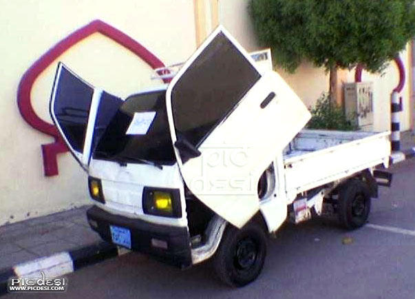 TATA ACE modified as Lamborghini India Funny