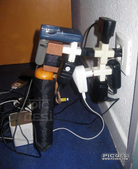 Socket Connections India Funny Picture