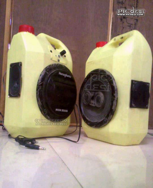 Portable Speaker System Funny India Funny