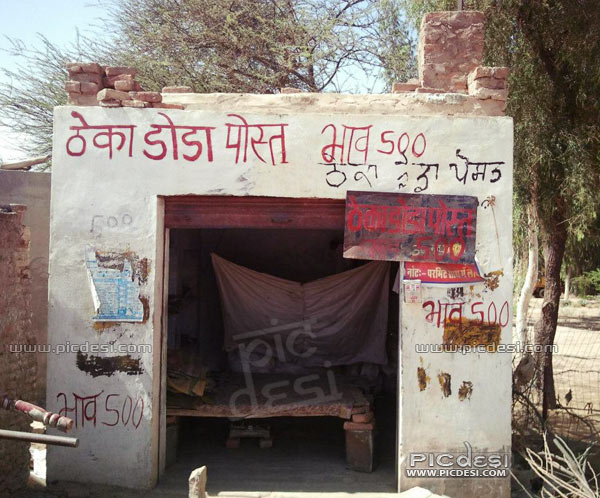 Desi Theka Doda Poset Shop in India India Funny Picture