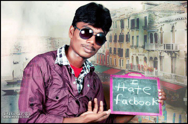 I Hate Facebook Funny Picture India Funny Picture