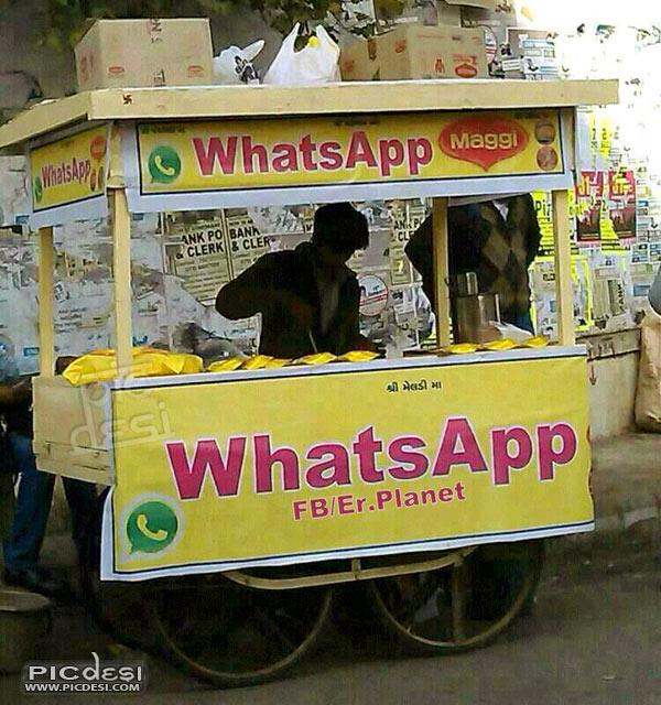 WhatsApp Maggi India Funny Picture