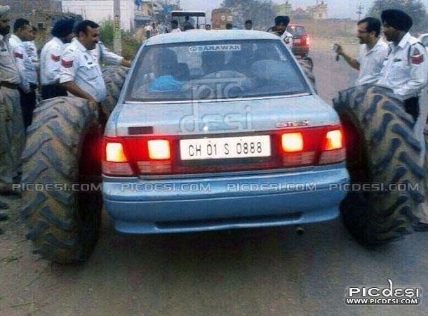 Car Funny & Amazing Modification India Funny Picture