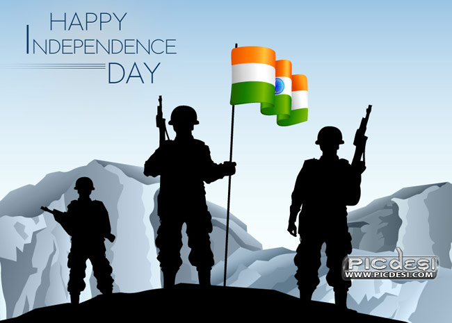 Independence Day Brave Indian Army Independence Day Picture