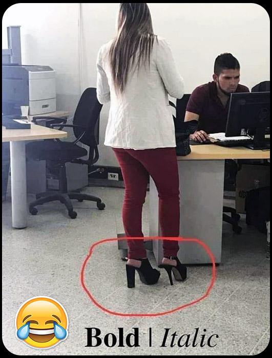 Funny Shoes Picture