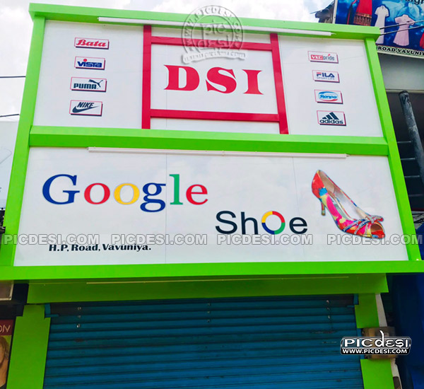 Google Shoe Funny Shop Name India Funny Picture