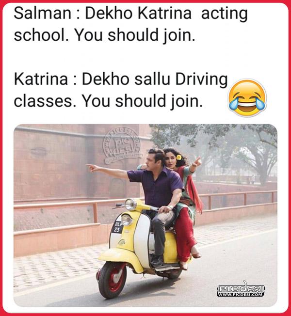 Salman Katrina Funny Troll Hindi Funny Picture