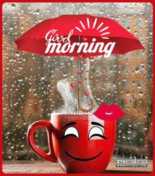 Good Morning Smiling Tea Cup Good Morning Picture