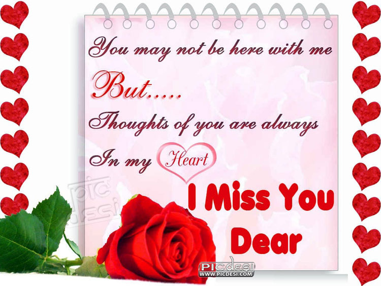 Always in My Heart Miss You Picture