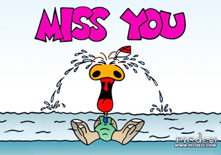Miss You Crying Toon Picture Miss You Picture