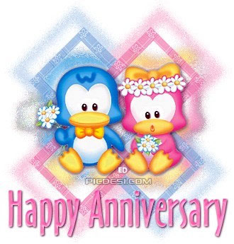 Happy Anniversary Toon Couple Picture Anniversary