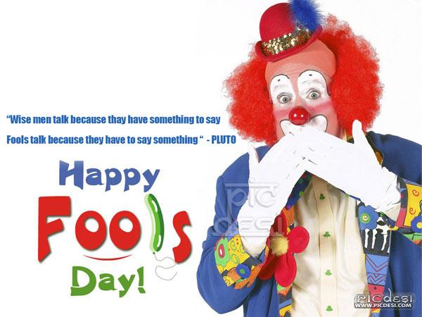 Happy Fools Day Fools Talk April Fools Day Picture