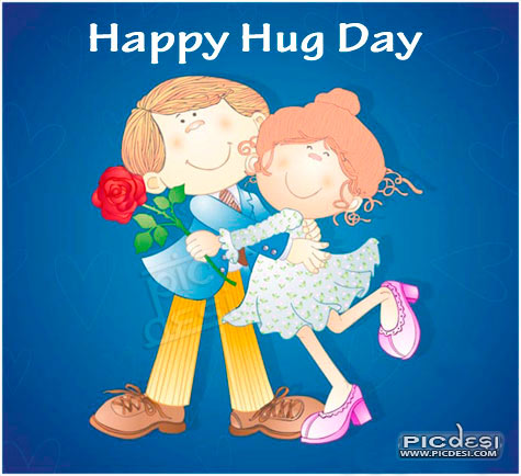 Happy Hug Day Couple Hug Day