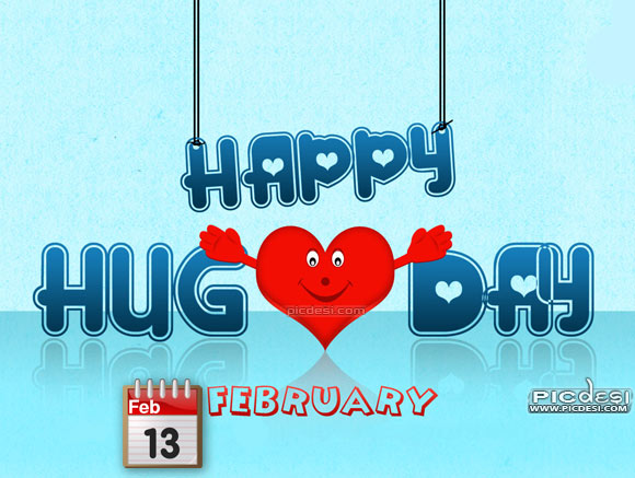 Happy Hug Day February 13 Hug Day