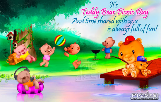 Teddy Bear Day   Time shared with you Teddy Bear Day