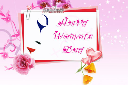 Happy Womens Day Flowers Womens Day Picture