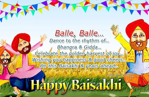 Happy Baisakhi   Celebrate with Joy Baisakhi