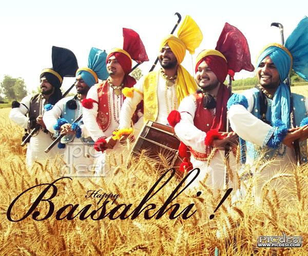 Happy Baisakhi Bhangra Picture Baisakhi Picture