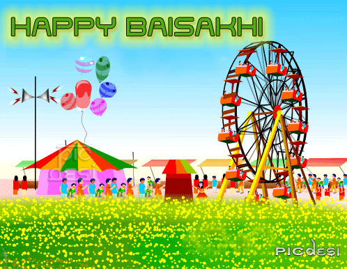 Happy Baisakhi Scrap Baisakhi Picture