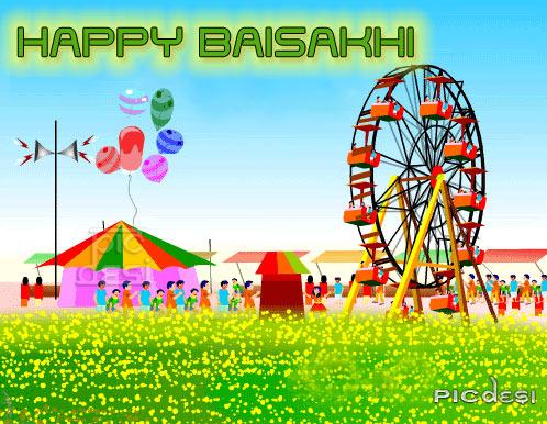 Happy Baisakhi Scrap Baisakhi