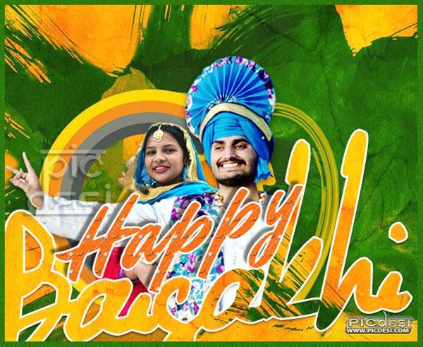 Happy Baisakhi Bhangra & Gidha Baisakhi Picture