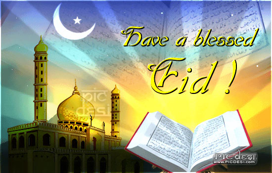 Have a blessed Eid Eid