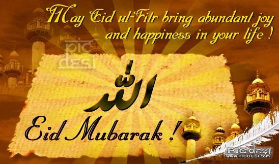 May Eid bring Joy... Eid