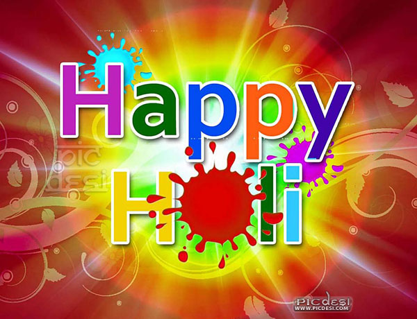 Happy Holi Picture Scrap Holi Picture