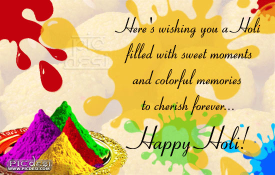 Happy Holi Splash Wishes Holi Picture